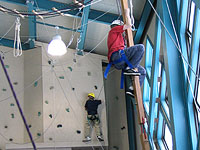 Camp Daggett Adventure Center Rock Climbing Wall