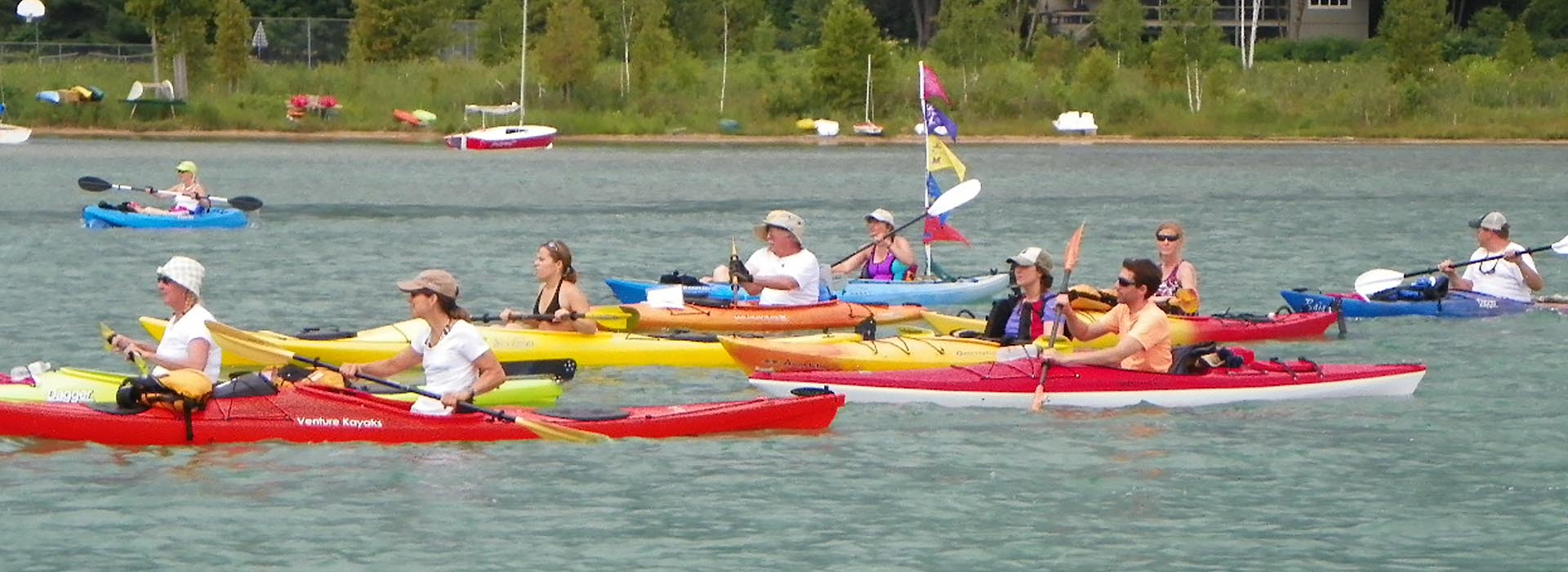 Kayak Cause Walloon Lake