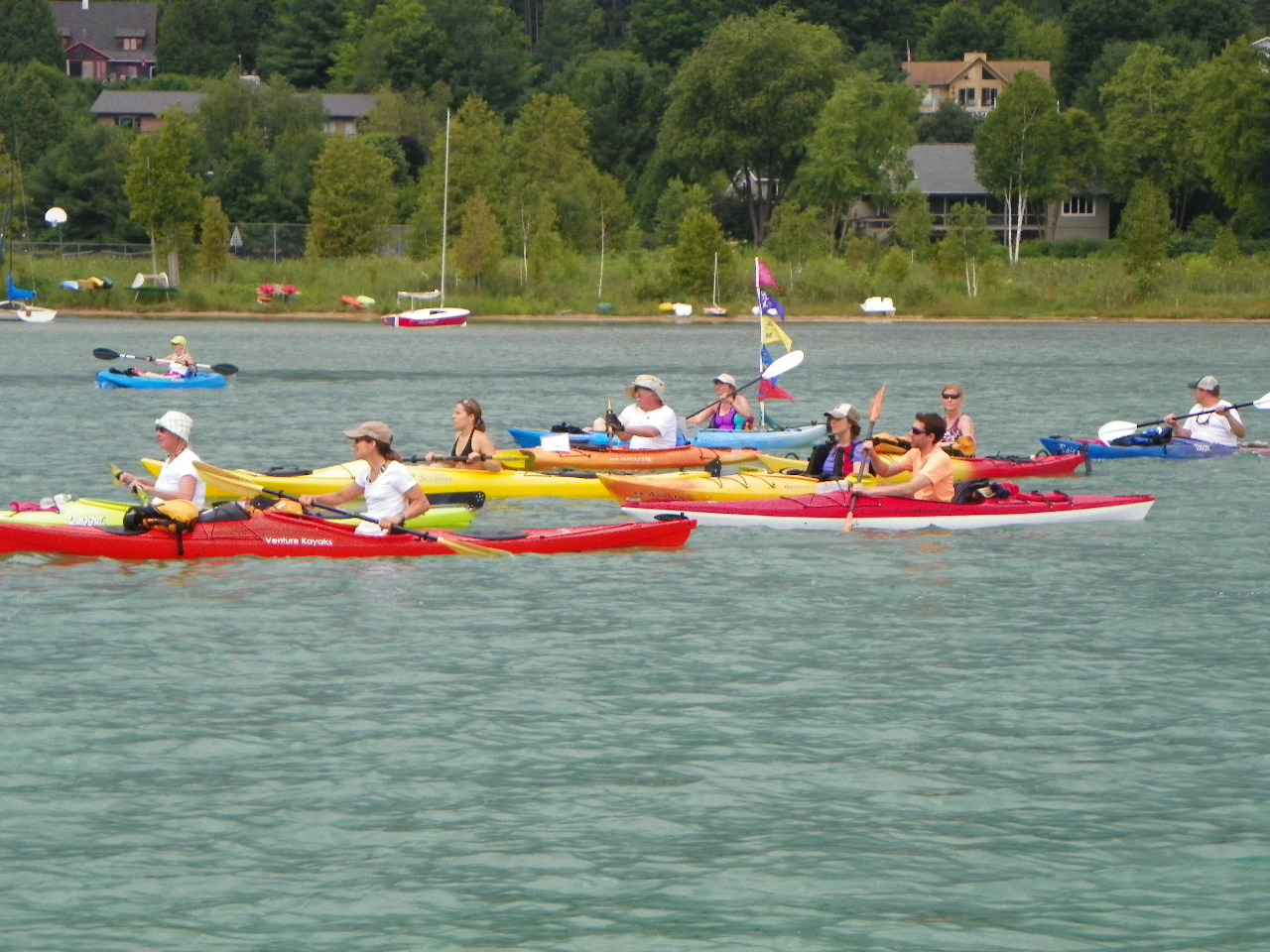 Kayak for a Cause on Walloon Lake