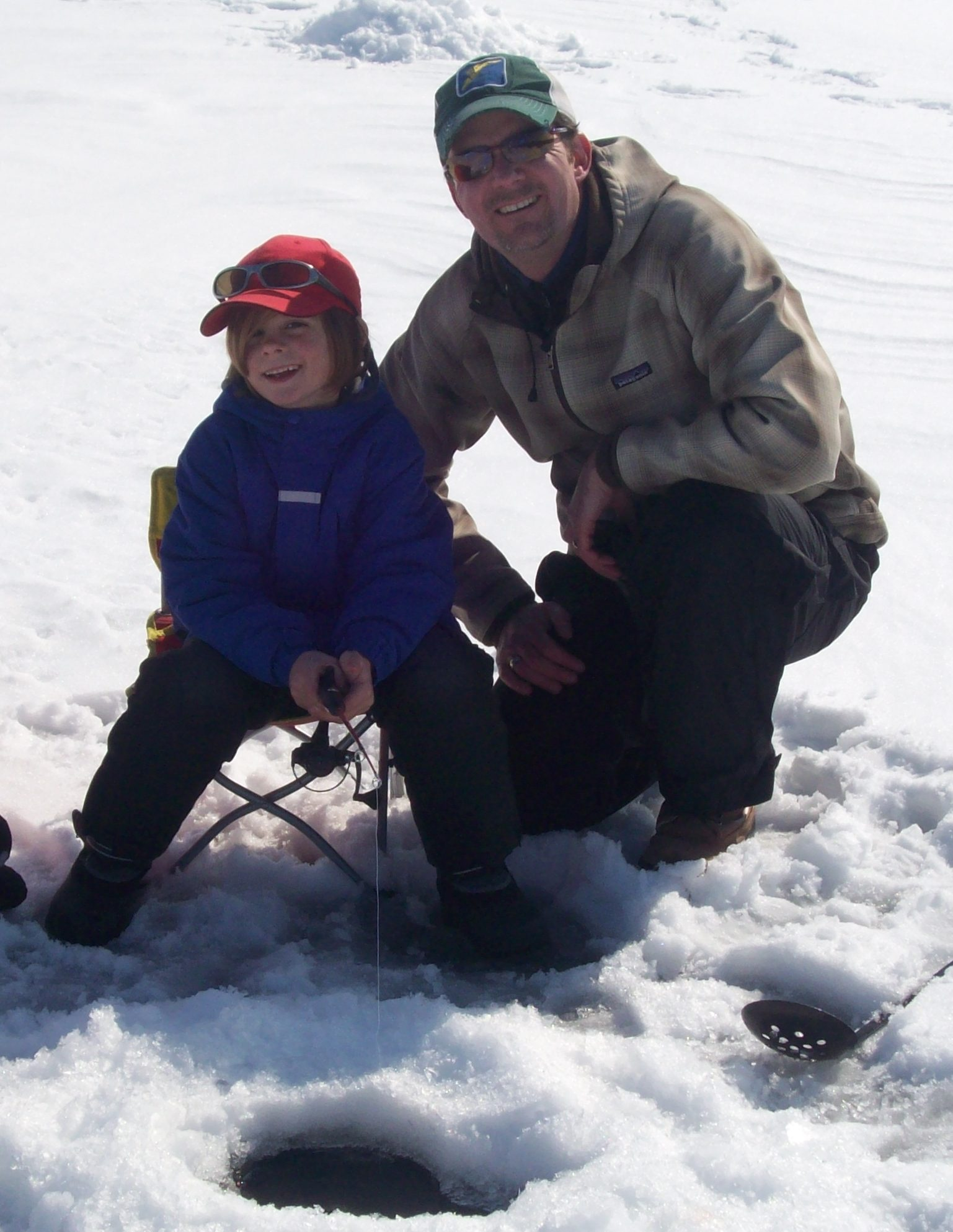 Father/Son Ice Fishing